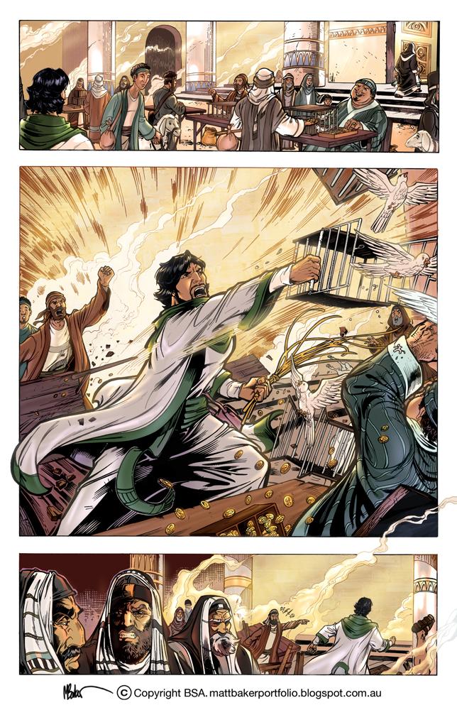JESUS LIMPIA SU CASA