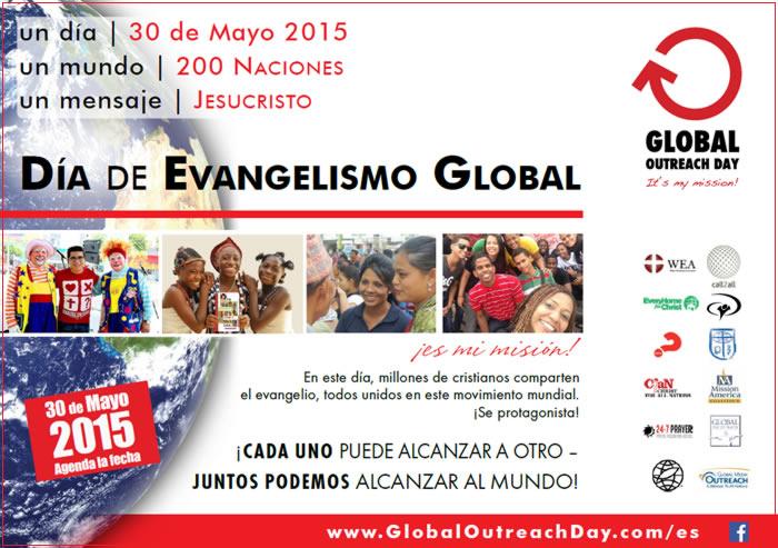 DIA DE EVANGELISMO GLOBAL